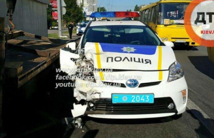 Патрульна поліція Києва знову потрапила у ДТП (ФОТО)