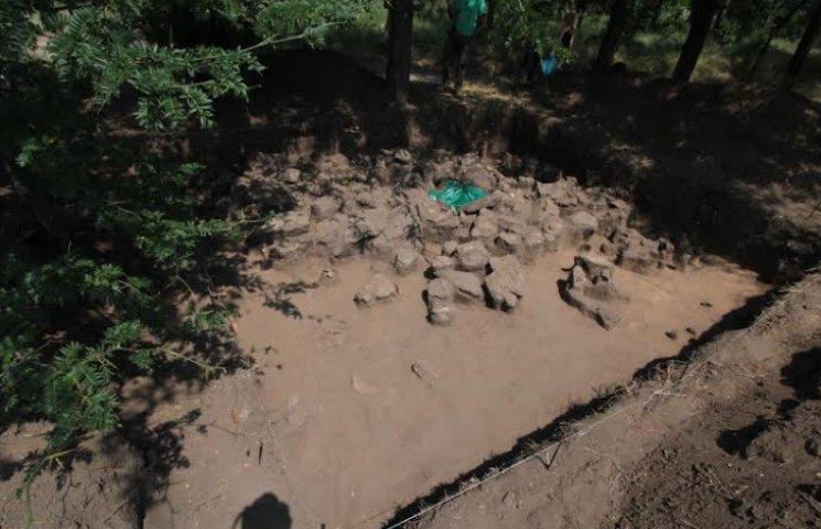 На Хортиці знайшли кам