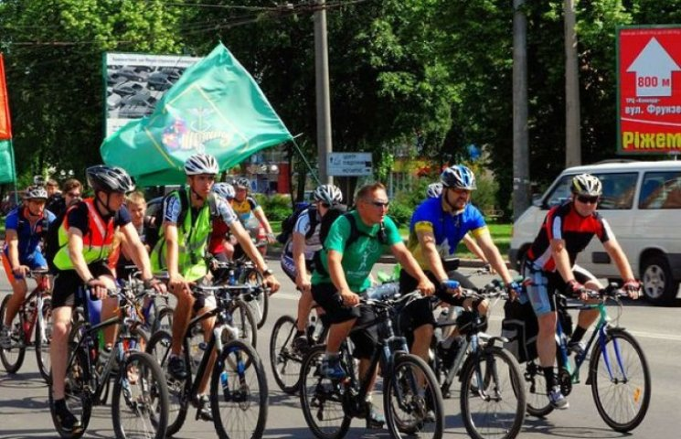 Через Полтаву пройде Всеукраїнський велопробіг