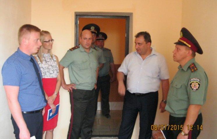 В Ізяславську колонію приїхала Місія ЄС з реформування