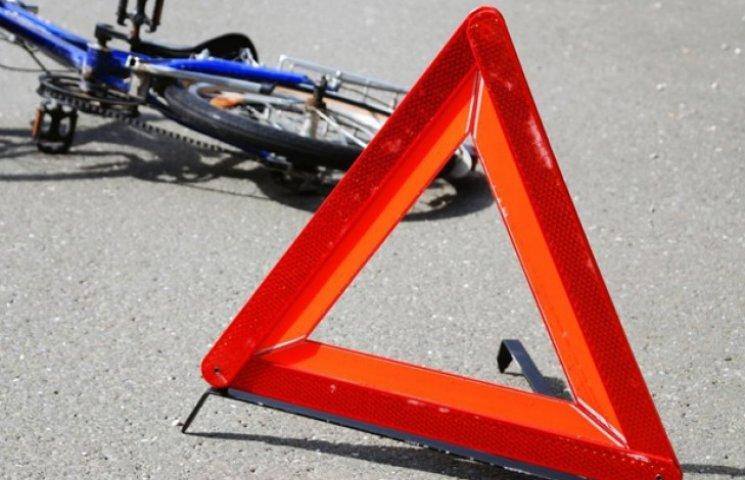 На Сумщині мопед збив малого велосипедиста (ФОТОФАКТ)