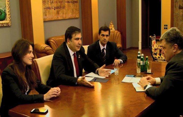 Саакашвілі розповів про своїх нових заступників