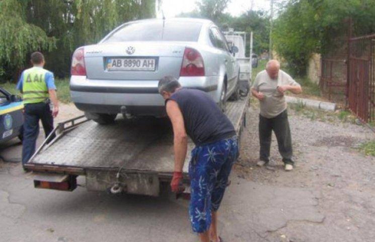 Екс-полковник міліції керував авто, перебравши норму алкоголю в 15 разів