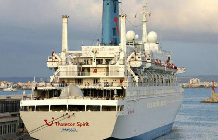 Британський круїзний лайнер вдруге за цей рік зайшов в Одесу
