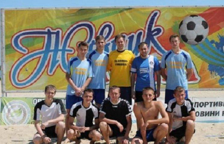 Пляжні гандболісти Вінниччини стали четвертими на чемпіонаті України