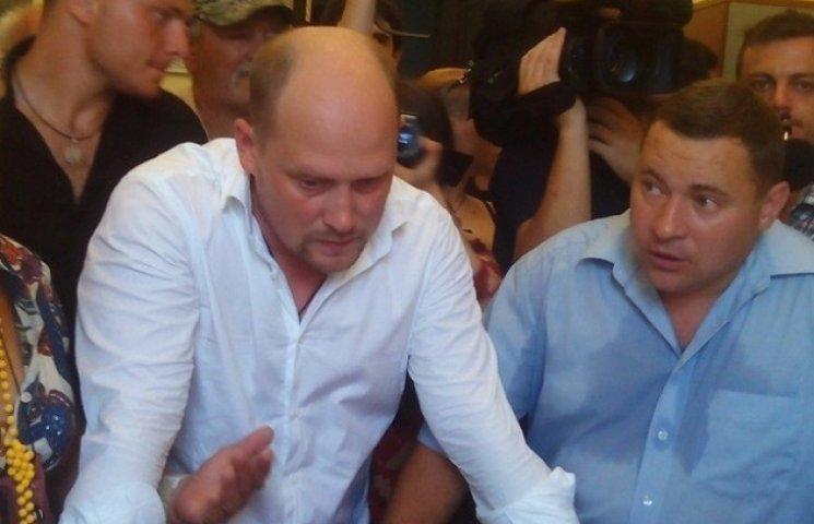 Аваков жорстко розкритикував демарш Капліна у Полтаві: За це слід позбавляти недоторканності
