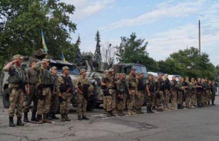 Бійці Нацгвардії повертаються до дому з зони АТО