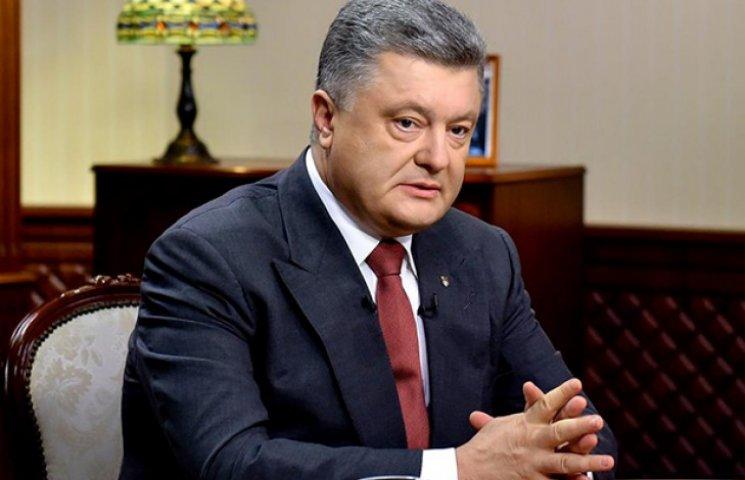 Порошенко збере Військовий кабінет через події у Мукачеві