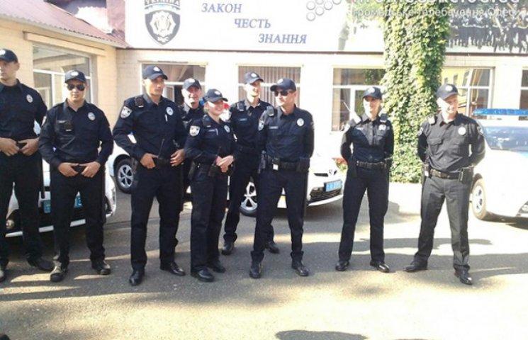 Сьогодні в Одесі проходить презентація нової патрульної поліції