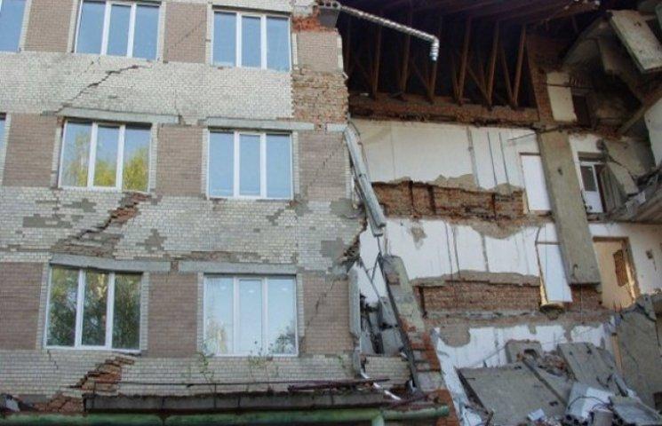 Аварійна поліклініка в Ізяславі потребує майже 20 мільйонів гривень на відновлення