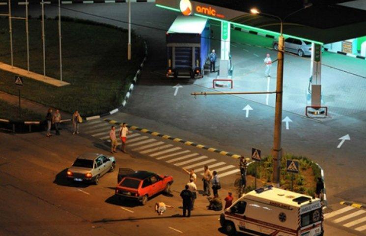 У Сумах під колесами автівки загинув пішохід (ВІДЕОФАКТ)