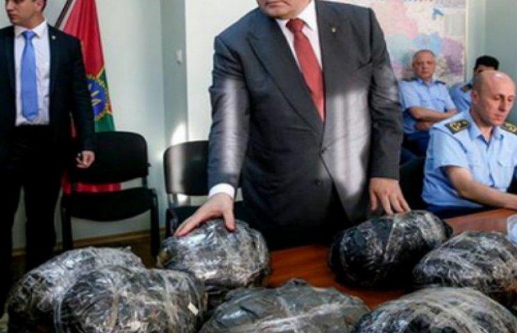 Порошенку і Москалю показали контрабанду в Мукачевому (ФОТО)