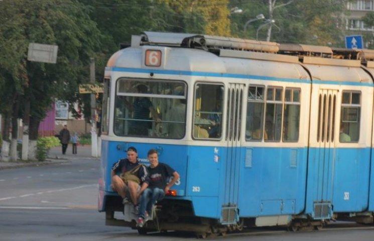 На трамвайних хуліганів у Вінниці складають адмінпротоколи