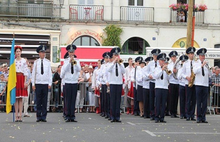 Хмельницький оркестр МВС підкоряв Францію