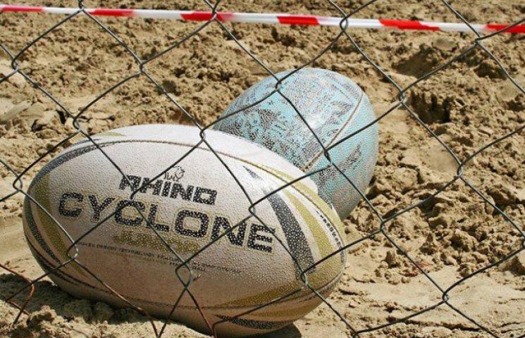 У Сумах пройшов турнір з пляжного регбі пам