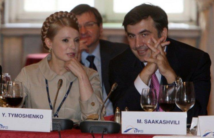 Путін привчає українців до думки, що Тимошенко популярніша за Саакашвілі