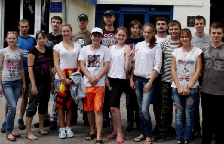 Молоді активісти Конотопщини провели байдарковий сплав по Сейму
