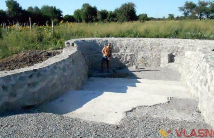 У Вінницькому районі будують басейн для інвалідів