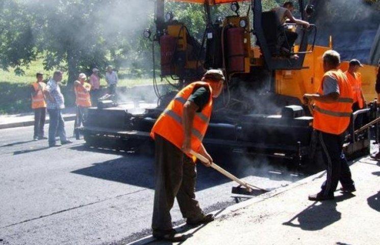У Полтаві інтенсивно ремонтують дороги