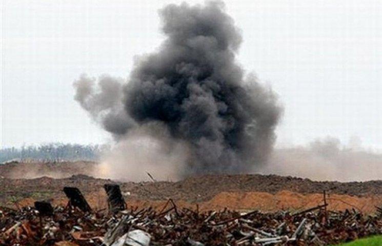На Сумщині за допомогою рятувальників вибухнув старий снаряд