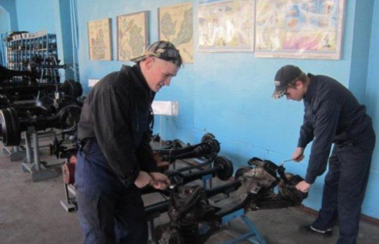 Євросоюз реорганізує професійно-технічні училища Вінниччини