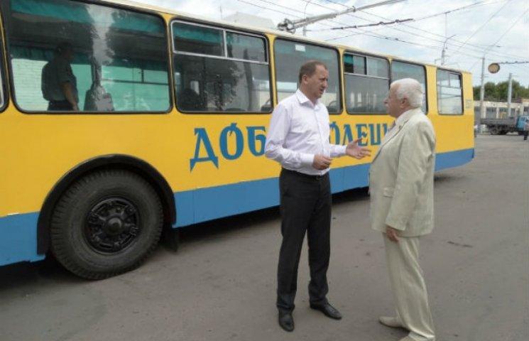 Сумчанам показали другий іменний тролейбус