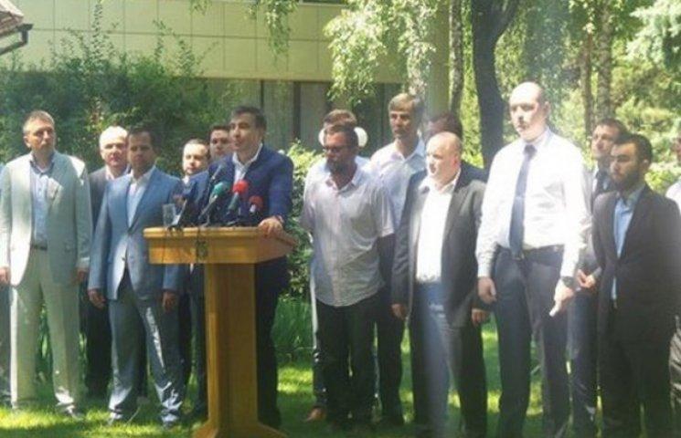 Голова ОДА Михеїл Саакашвілі представив деяких переможців конкурсу на посаду голови райадміністрацій