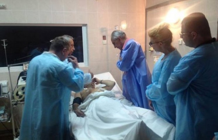 Дніпропетровські лікарі врятували 99% важкопоранених бійців