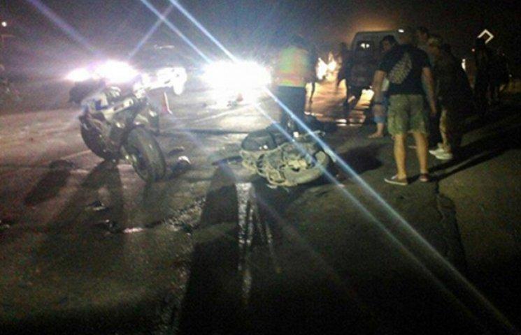 В Прилиманському аварія спровокувала напад місцевих жителів на волонтерів і міліцію