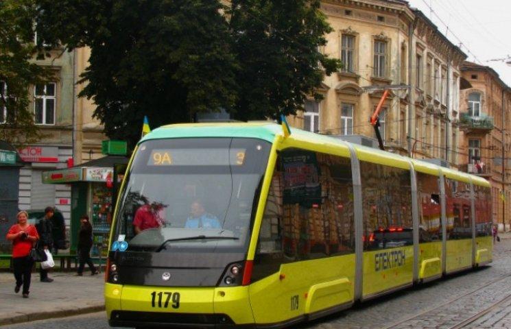 На Сихів курсуватимуть нові трамваї
