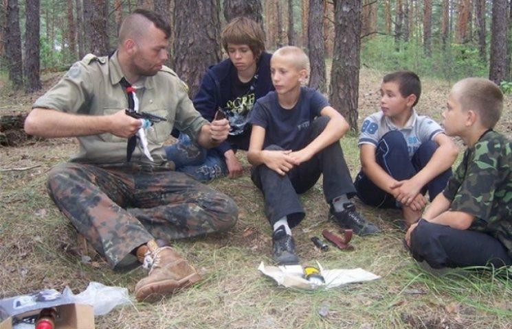 Юні вінничани вчаться виживати в екстремальних умовах