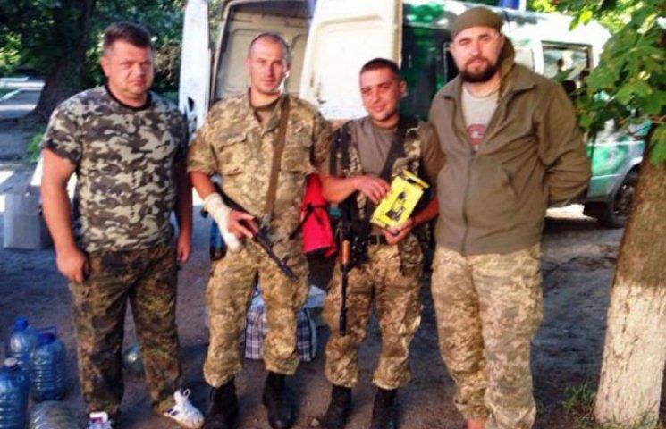 Жителі Волочиська передали чергову допомогу в АТО