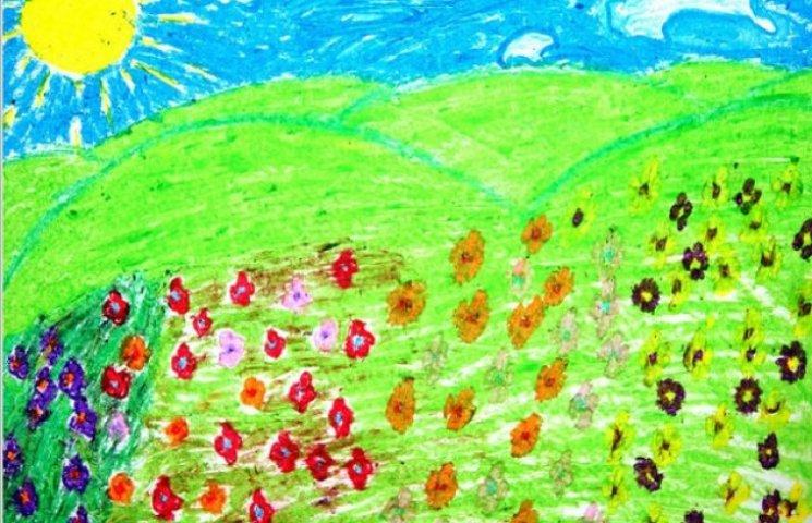Діти Одещини виставлять своє бачення України в картинах
