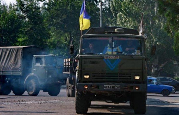 """До Запоріжжя повернулися """"укропи"""" з 55-ої бригади"""