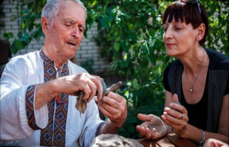 Найстарший гончар Полтавщини святкує день народження