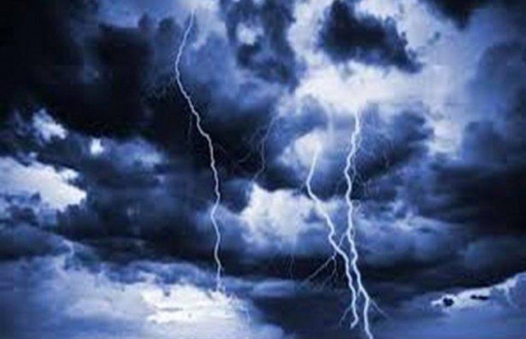 В Одесі знову оголошено штормове попередження