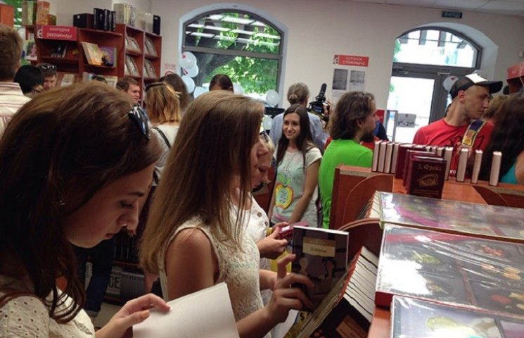 У Хмельницькому відкрилась нова книгарня