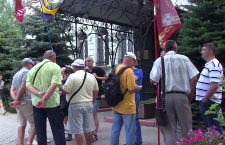 """В Николаеве активисты угрожают Луценко """"одесским сценарием"""""""