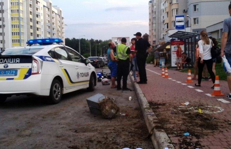 Вінничани спіймали мотоцикліста, який збив сім