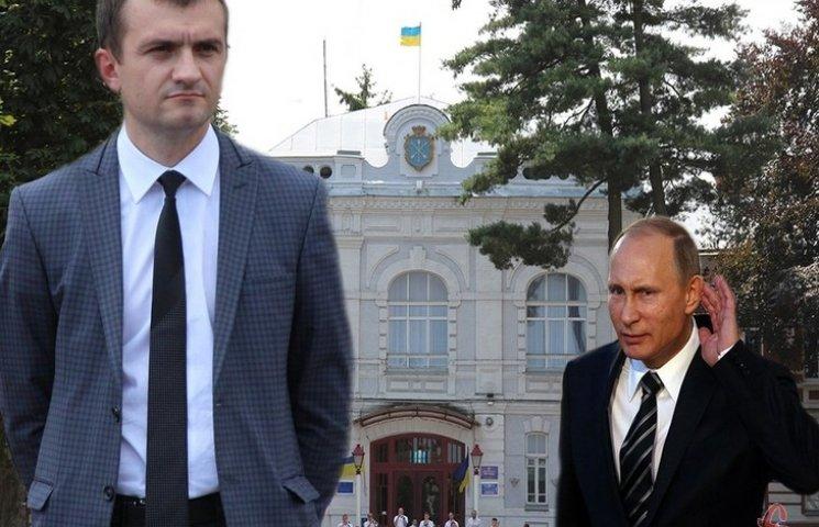 "Хмельницкий мэр-""свободовец"" взял на работу Путина"