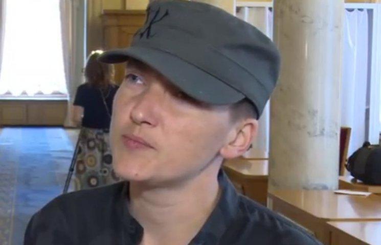 Савченко намекнула, что встречалась с Плотницким и Захарченко на нейтральной территории