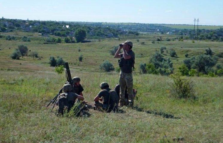 На Николаевщине бойцы 79-ки провели очередные учебные стрельбы