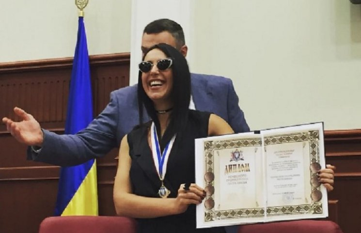 "Джамала стала ""почесною громадянкою Києва"""