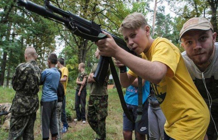 """Бійці """"Азову"""" скоординувалися задля навчання юних подолян"""
