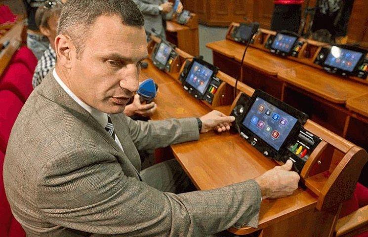 """У Кличко запускают """"зрадофильский парад"""" регионов"""