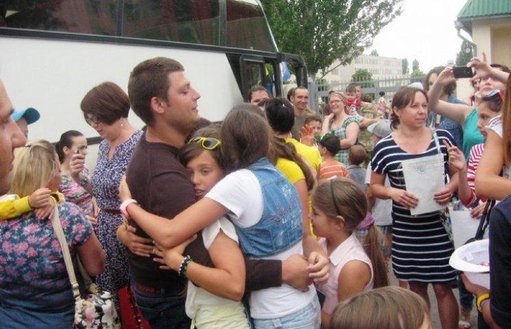До Миколаєва з відпочинку у Хорватії повернулися діти АТОшників та переселенців