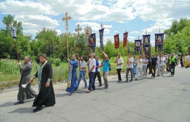 Хресна хода з Донбасу пройде через Полтавську область