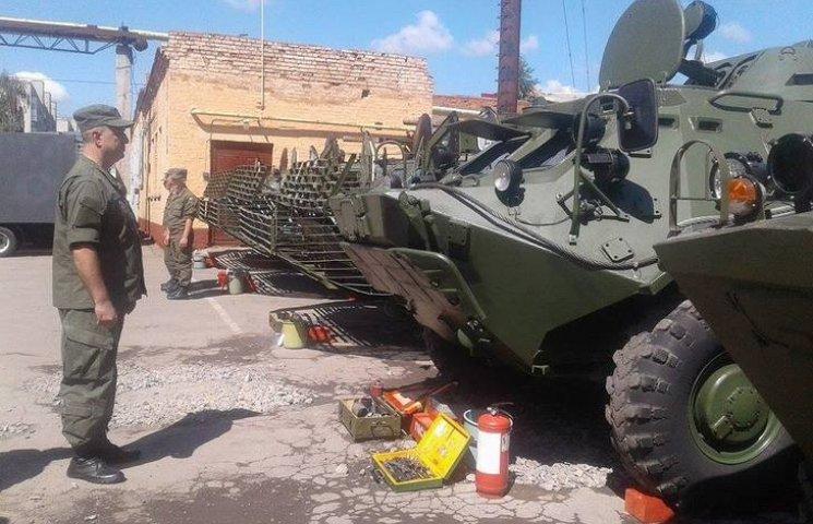 Вінницькі військові провели тест-драйв бойових машин