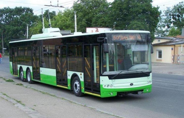 Більше 30 мільйонів виділить хмельницька мерія на закупівлю тролейбусів