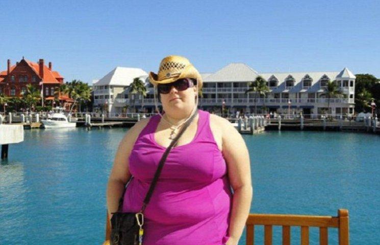 Женщина, которая застряла на горке в аквапарке, похудела на 70 кг благодаря стриптизу
